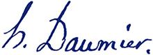 HONORÉ DAUMIER Logo