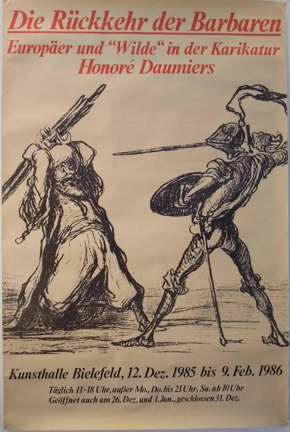 1989 PAUL DAVIS Affiche originale-Bicentenaire de la Révolution Française
